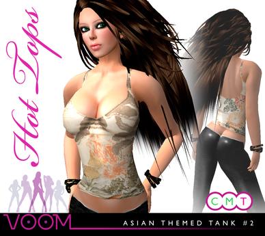 VaVaVOOM ! - Asian Themed Tank #2 - FULL PERM!
