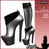 JariCat Faith Boots - Black