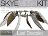 Skye MESH Kit - Full Perms Leaf Bracelet Jewelry Kit