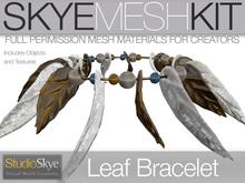 Skye MESH Kit - Full Perms Leaf Bracelet Jewelry Kit