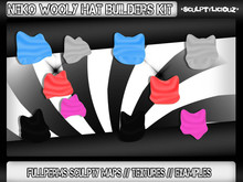 Neko Woolly Hat Kit