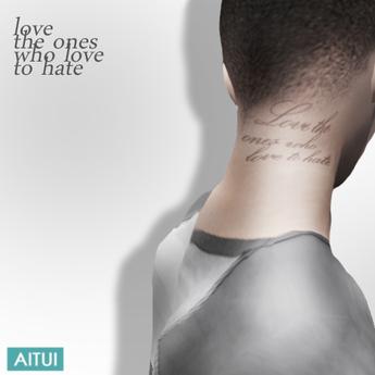 AITUI TATTOO - The Ones Who Hate
