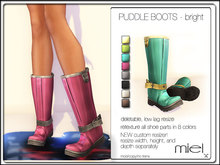 MIEL PUDDLE BOOTS - BRIGHT