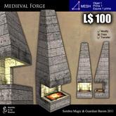 LOW PRIM - Medieval forge [G&S] - MESH