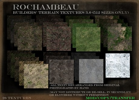 Rochambeau Builders' Terrain Textures 3.0 (512 ONLY) (Boxed)