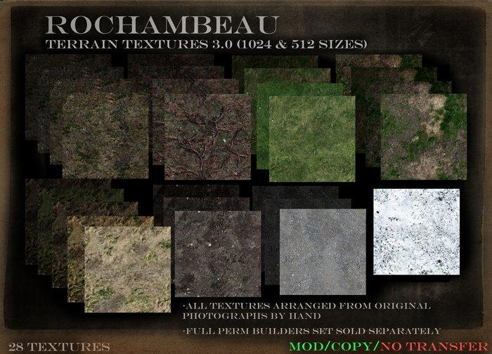 Rochambeau Terrain Textures 3.0 (1024 and 512)