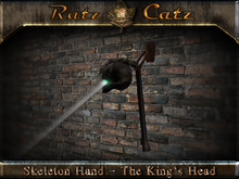 .:[RatzCatz]:. Skeleton Hand - The King's Head