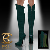 BAX Prestige Boots Green Suede