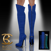 BAX Prestige Boots Blue Suede