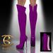 BAX Prestige Boots Purple Suede
