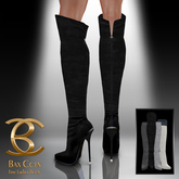 BAX Prestige Boots Black Suede