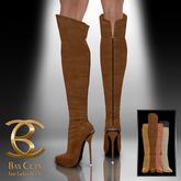 BAX Prestige Boots Brown Suede
