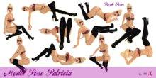 PURPLE POSE PATRICIA - model poses , sexy poses