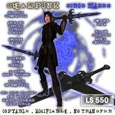 Steampunk Surge Blades tagSteampunk