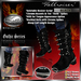 """PROMO ~ NEW RELEASE ~ SALE ~ !Drakke! """"Hellraiser"""" Gothic Boots(Black)   ~ SL Viewer 2 Ready (Alpha Mask Included)"""