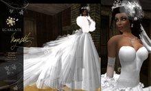 Ecarlate - Majestik - Wedding Bridal Mariage Dress / Marriage