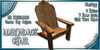 WaterWorks - Adirondack Chair - OAK