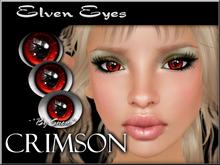 ~*By Snow*~ Elven Eyes (Crimson)