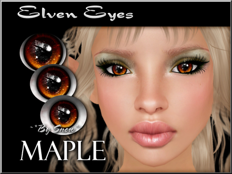 ~*By Snow*~ Elven Eyes (Maple)