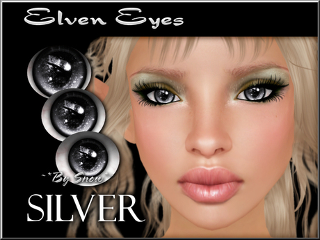 ~*By Snow*~ Elven Eyes (Silver)