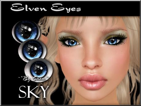 ~*By Snow*~ Elven Eyes (Sky)