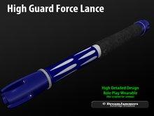 High Guard Force Lance V1.1