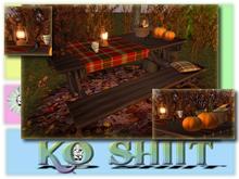 Love Autumn Picnic