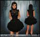 [Wishbox] Reveries (Black) - Goth Victorian Babydoll Dress Doll EGL Vampire Gothic Lolita