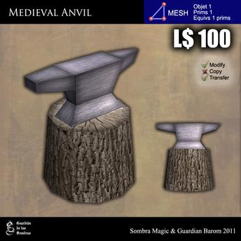 LOW PRIM - Medieval anvil [G&S]