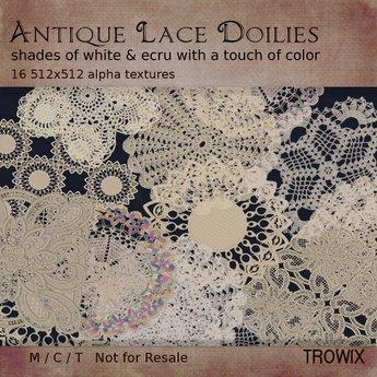 Trowix - Antique Lace Doilies