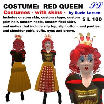 OnP Costume Red Queen