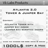 Atlantis Tower & Jumper Bay [ tag SciFi ]