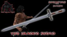 >]BCSF[< Two Handed Sword Script (Single Set)