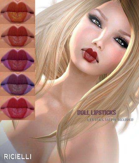 R.icielli - Lipstick DOLL - FREEBIE!!