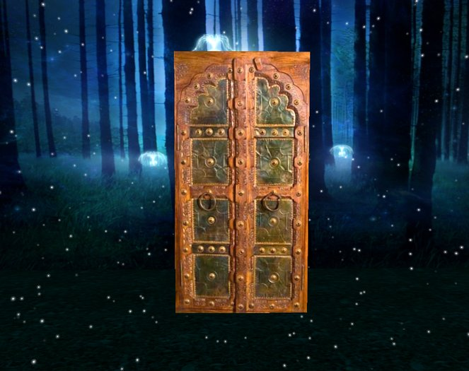 Medieval Door Plays Music on Touch