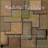 Madville Textures - Plain Bronze Copper Textures