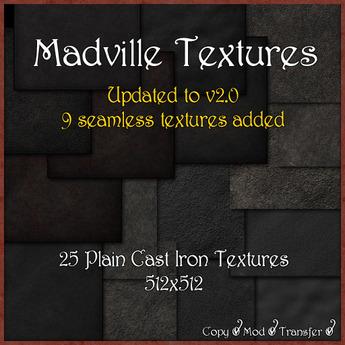 Madville Textures - Plain Cast Iron Textures