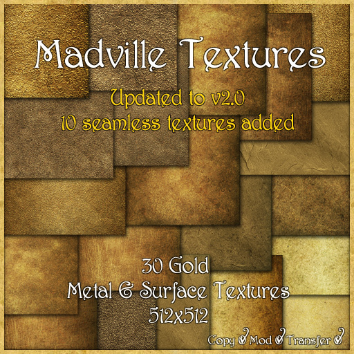 Madville Textures - Gold Metal & Surface Textures