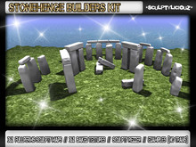 ~*SculptyliciouZ*~ Stonehenge Builders Kit