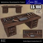 LOW PRIM - Medieval blacksmith table [G&S]