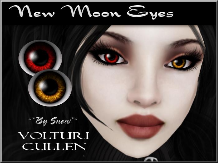 ~*By Snow*~ New Moon Eyes (Cullen & Volturi)