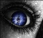 BLUE MUSICAL EYES. fantasy eyes,avatar eyes -dj eyes