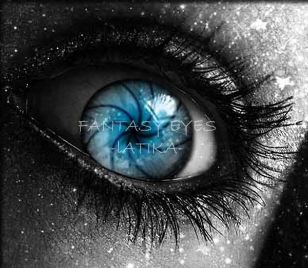 OCEAN BLUE  EYES. fantasy eyes,avatar eyes - it's all about you!