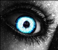 BLUE EYES. fantasy eyes,avatar eyes - BE ONE OF A KIND.
