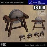 LOW PRIM - Medieval grinding wheel [G&S]
