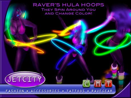 JETCITY - Raver's Hula Hoops