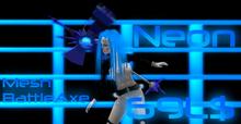 Mesh_Neon_Battleaxe