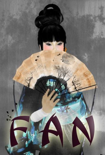 TuTy's - scripted geisha' fan