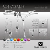 (Style Society) Chrysalis Multi Stone Set