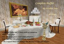 Complete Buffet (foods and drinks) by Alzahra Ames